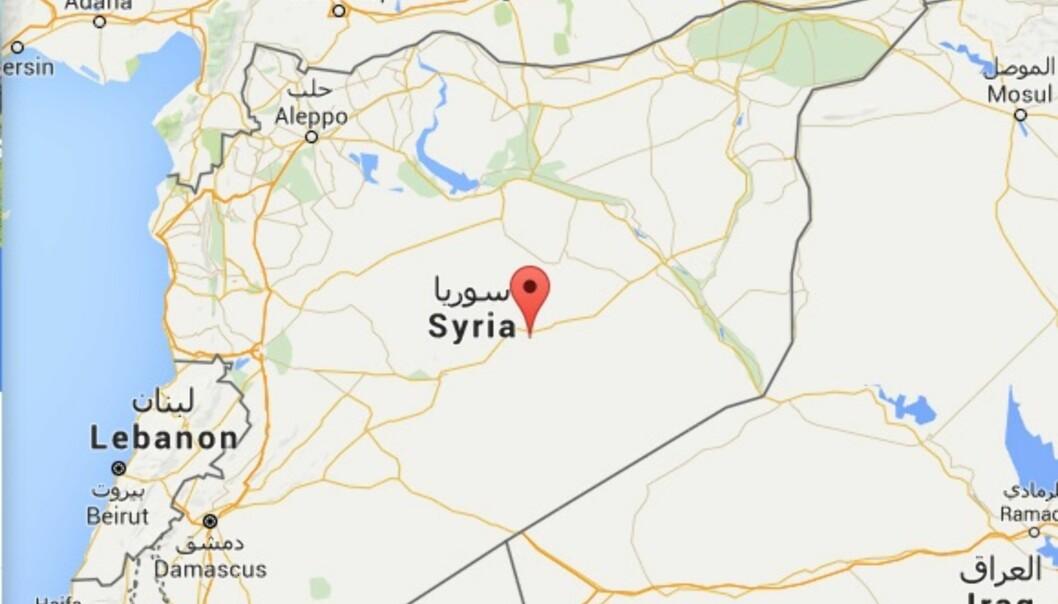 Nesten halvparten av de drepte nettjournalistene har dekket konflikten i Syria. Foto: Google maps