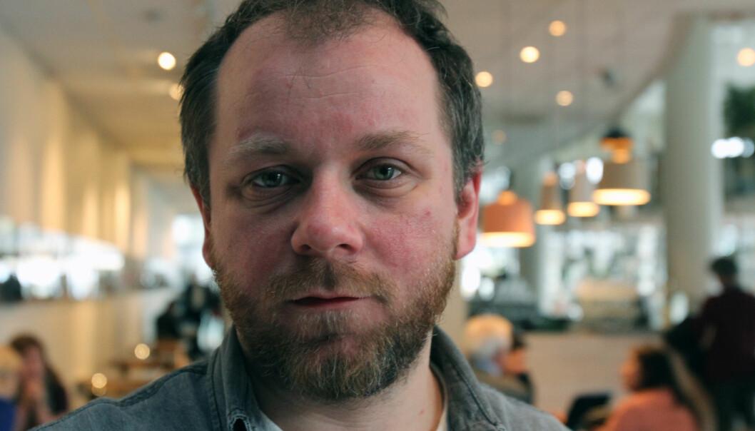 Tor-Erling Thømt Ruud, leder av redaksjonsklubben i VG, regner med at det skal være mer å hente når klubben og ledelsen i VG møtes til lokale forhandlinger i juni. Foto: Martin Huseby Jensen