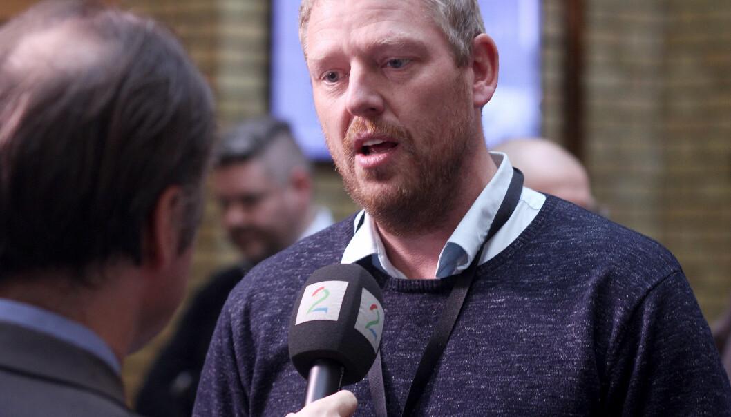 TV 2s nyhetsredaktør Jan Ove Årsæther frykter amerikanisering. Foto: Glenn Slydal Johansen