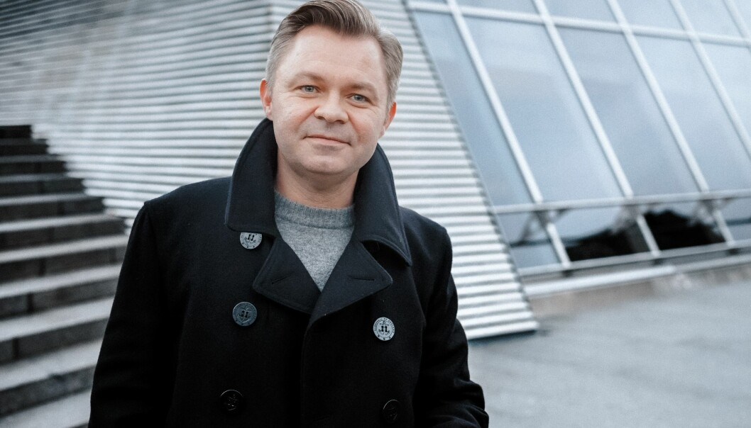 Øystein Bonvik. Foto: Ilja Hendel