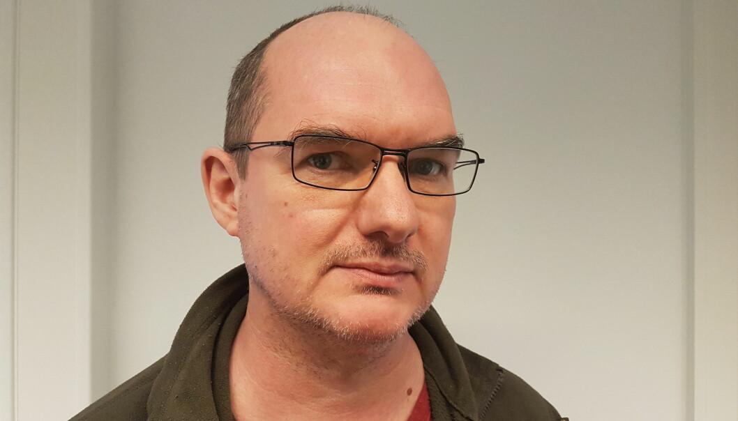 Ola Karlsen i ABC Nyheter ønsker at Ronny Alte skal publisere at han ble lurt av den falske skjermdumpen. Alte vil avvente bevis. Foto: Privat
