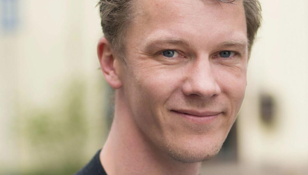 Erik Bolstad elsker store datamengder. Det burde det ikke skorte på i et leksikon. Foto: Erik Dyrhaug, SNL