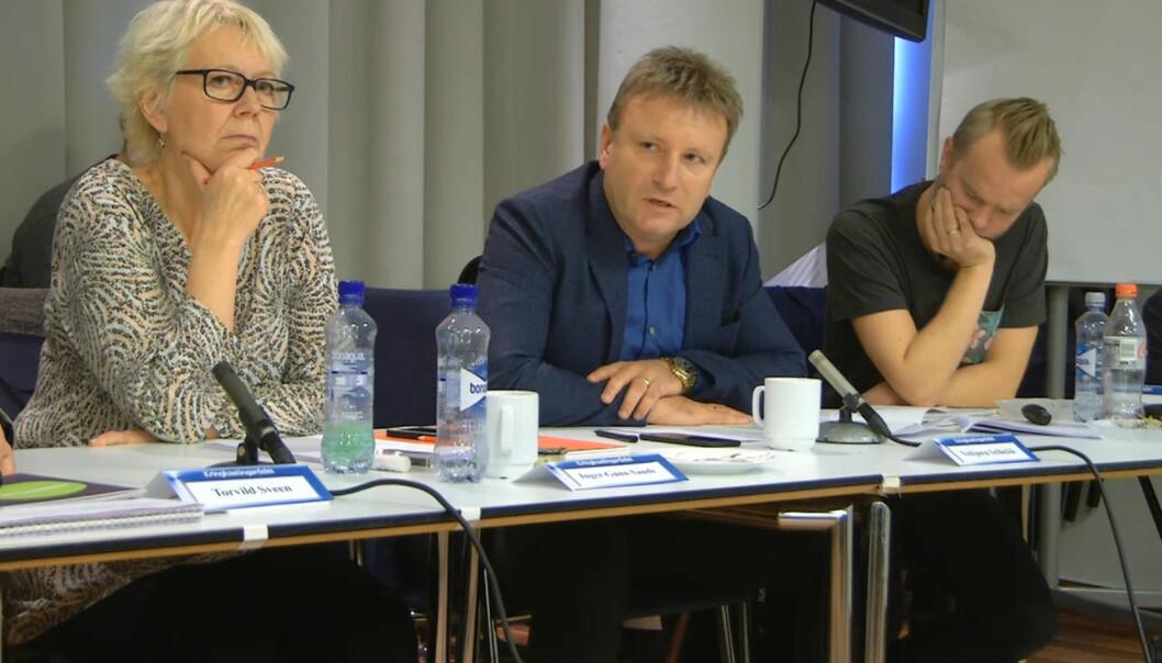 Vebjørn Selbekk er blant rådsmedlemmene som langt fra er imponert over dokumentaren. Foto: NRK