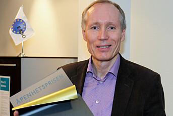 UDI-direktør Frode Forfang fikk årets åpenhetspris