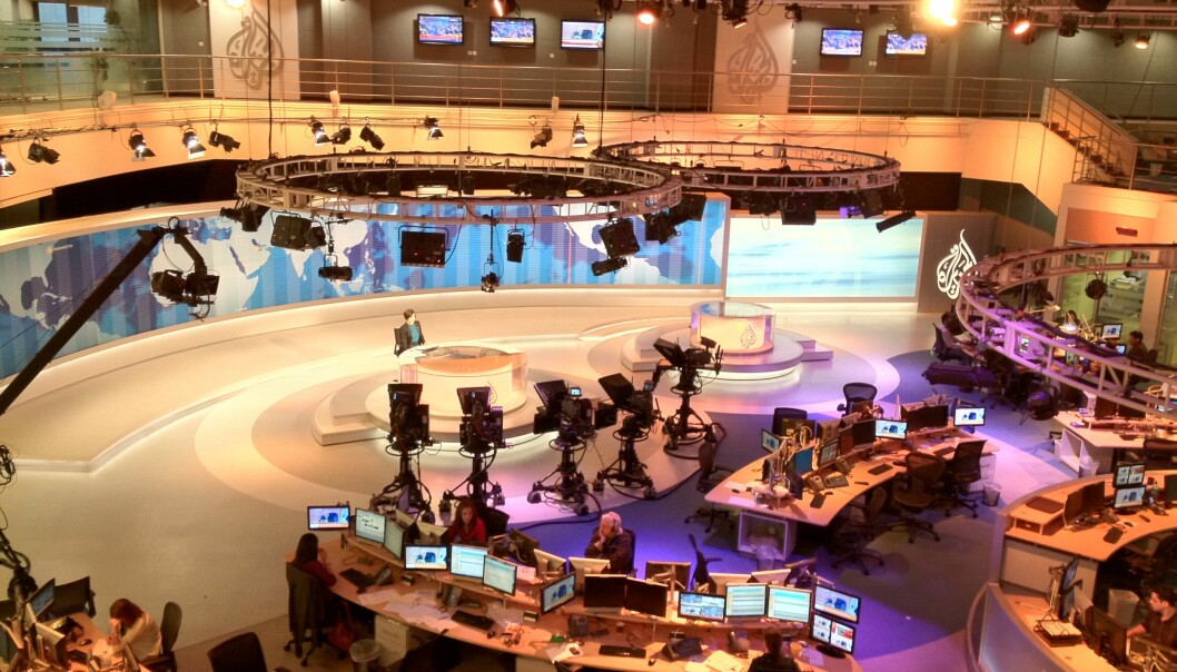 TV-stasjonen Al Jazeera. Foto: Wikimedia Commons/Wittylama