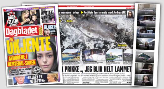 Dagbladet publiserer politiets bilder og avhør i Hemsedal-saken