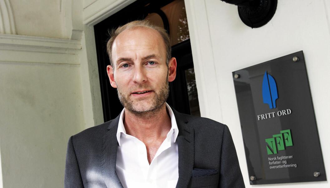 Knut Olav Åmås er direktør i Fritt Ord. Foto: Birgit Dannenberg