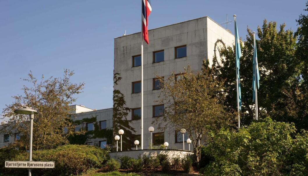 NRKs hovedkontor på Marienlyst. Foto: Helge Øgrim