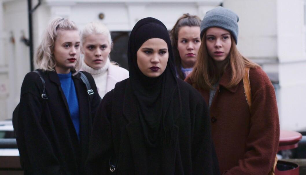 Regjeringen må gjøre mer for å fram norske TV-serier, mener Arbeiderpartiet. Her Skam fra NRK. Foto: NRK