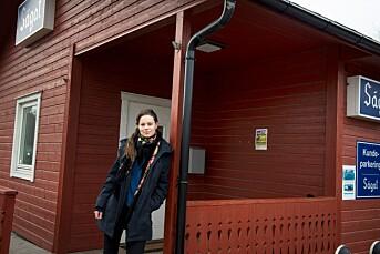 Frøydis flyttet 175 mil fra hjem=stedet til fast journalist=jobb i Karasjok