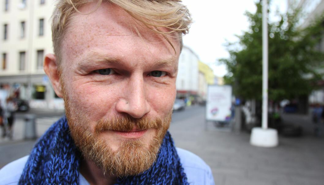 Baard Zakariassen ble gjenvalgt som leder i Oslo Journalistklubb. Foto: Martin Huseby Jensen