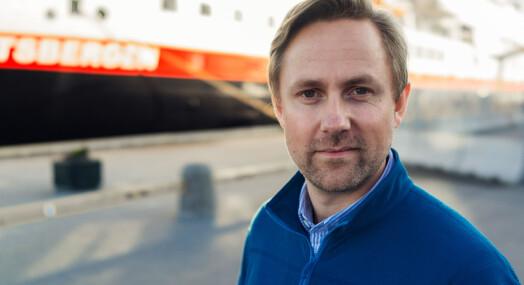 Rune Thomas Ege elsker store passasjerskip. Nå forlater han VG for drømmejobben