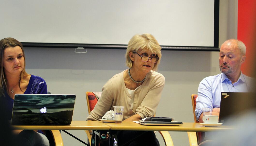 Siri Gedde-Dahl er leder av Pressens offentlighetsutvalg, og jobber til daglig som leder for gravegruppa i Dagbladet. Arkivfoto: Glenn Slydal Johansen