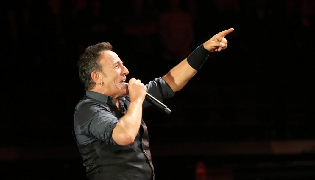 Når Bruce Springsteen blir å se på «Skavlan» fredag, er det en merkedag for The Boss på flere måter. Foto: Flickr.com/Creative Commons/Shayne Kaye