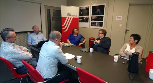 Intervju med Hege Iren Frantzen ble tema på NJs AU-møte