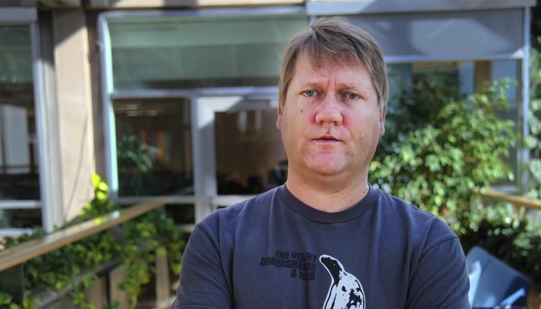 VG-journalist Eirik Mosveen har måttet tåle en god del negative personkarakteristikker opp gjennom årene. Foto: Kathrine Geard