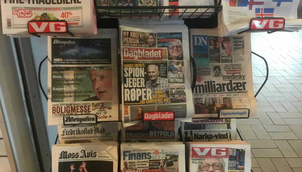 Mange avislesere vil bli rammet av at Posten ikke leverer på lørdager.