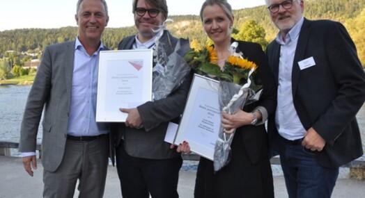 BA og journalist Linda Nilsen vant Amedia-pris