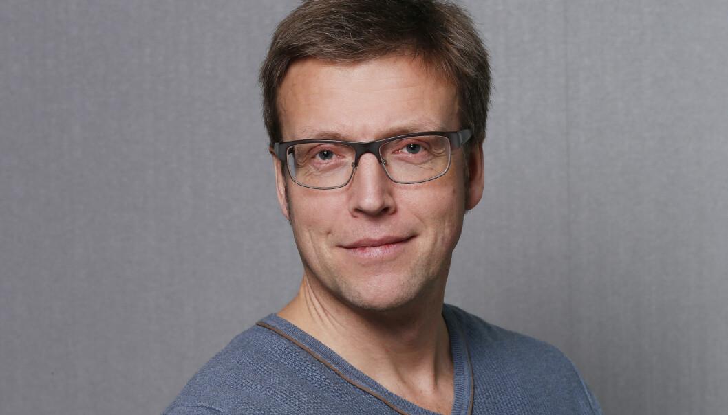 Distriktsredaktør Morten Ruud i NRK Finnmark. Foto: NRK
