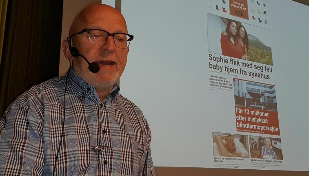Sven Egil Omdal får med seg Anki Gerhardsen, Eva Sannum og Simen Sætre i sitt nye utvalg. Arkivfoto: Bjørn Åge Mossin
