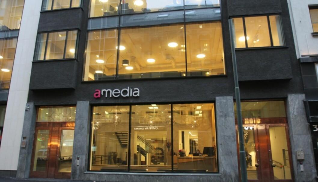 Avisenes Nyhetsbyrå holder til i Amedias nye lokaler i Akersgata 34/36. Foto: Glenn Slydal Johansen