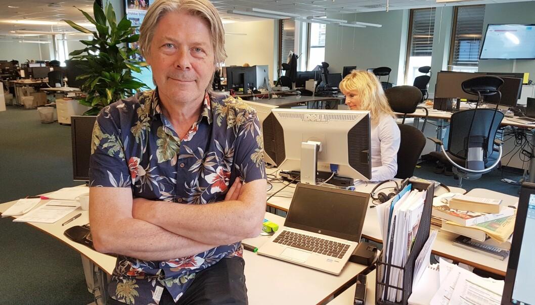 Erik Stephansen. Foto: Bjørn Åge Mossin