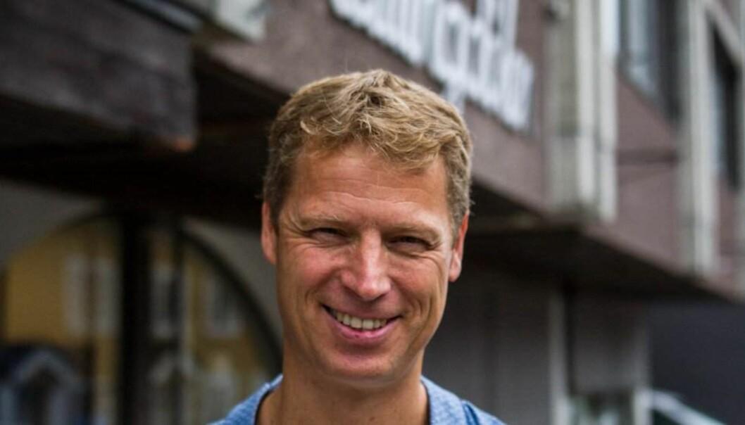 Ola Stave er Hallingdølens nye administrerende direktør. (Foto: Susanne Adensfield)