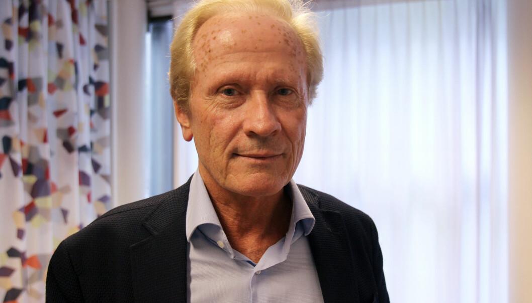 Advokat Per Danielsen representerer kirurg Per Kristian Eide. Foto: Glenn Slydal Johansen