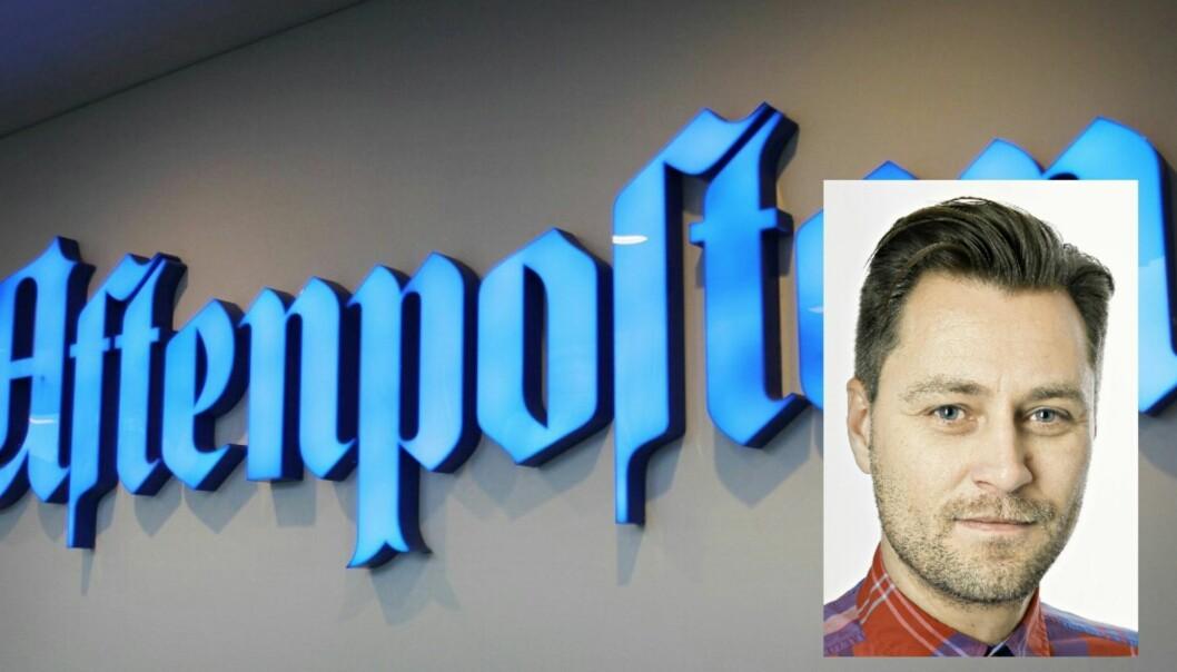 – Mange blir bekymret for det som skal skje og for jobbene sine, sier Frank Lynum, leder av Aftenpostens Redaksjonsklubb. Foto: Bjørn Åge Mossin