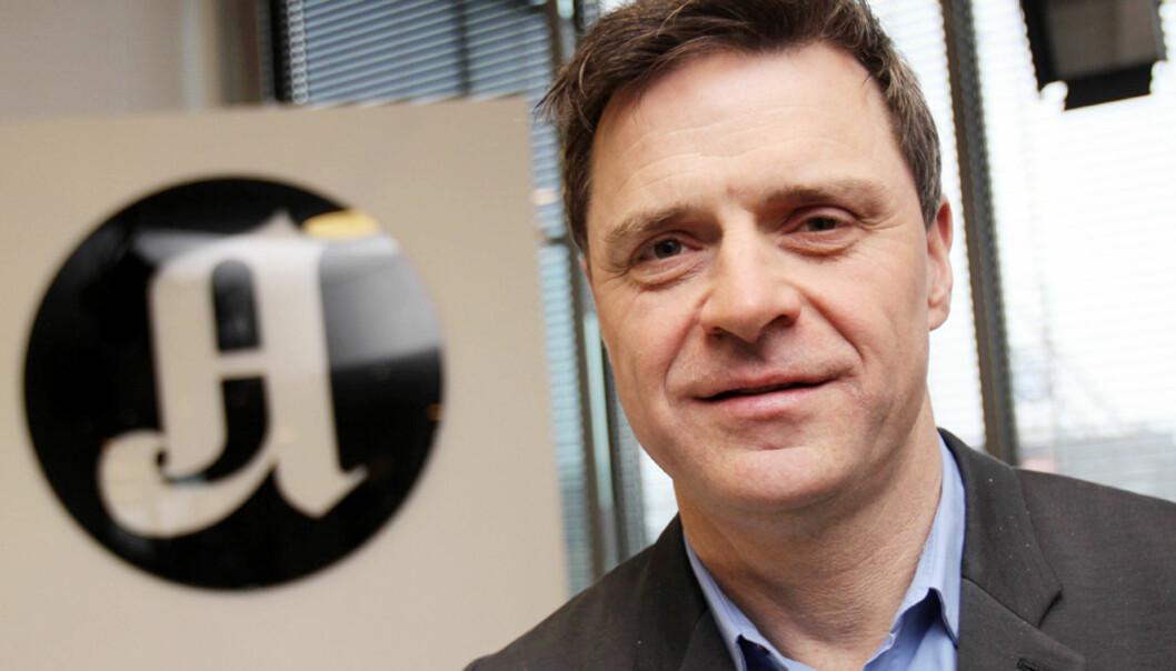 Espen Egil Hansen, publisher i Aftenposten. Foto: Birgit Danneberg