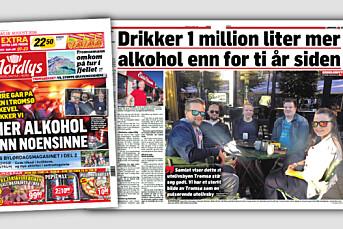 Universitets-forsker kritiserer Nordlys for misvisende alkoholforside