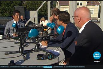 NRK dominerer Arendalsuka