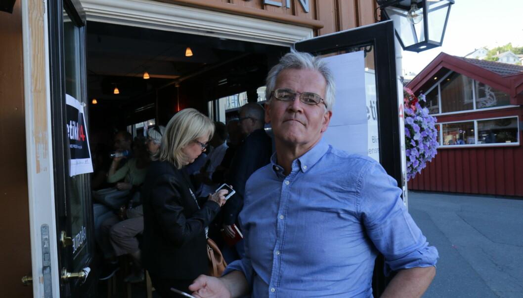 Alf Bjarne Johnsen mener det er ombudets rett å kontrollere mediene dersom de mener markedsføringsloven ikke er overholdt. Foto: Ole Dag Kvamme