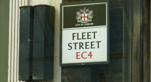 De siste journalistene har forlatt Fleet Street