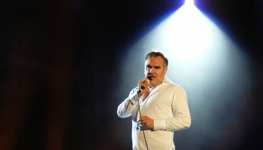 Morrissey under en konsert i 2011. Foto: Man Alive!/Flickr.com under CC BY 2.0-lisens