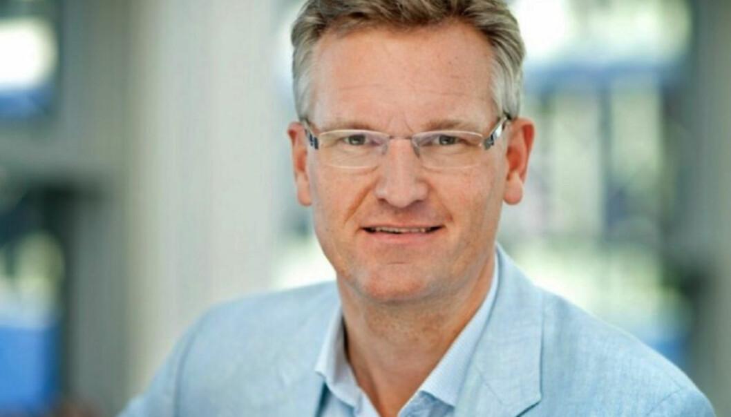 Nyhetdirektør Ulrik Haagerup er bekymret for eventuelle ringvirkninger bildebruken av terrorister. Foto: Agnete Schlichtkrull/DR.