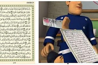 NRK Super fjernet episoden med Koran-side