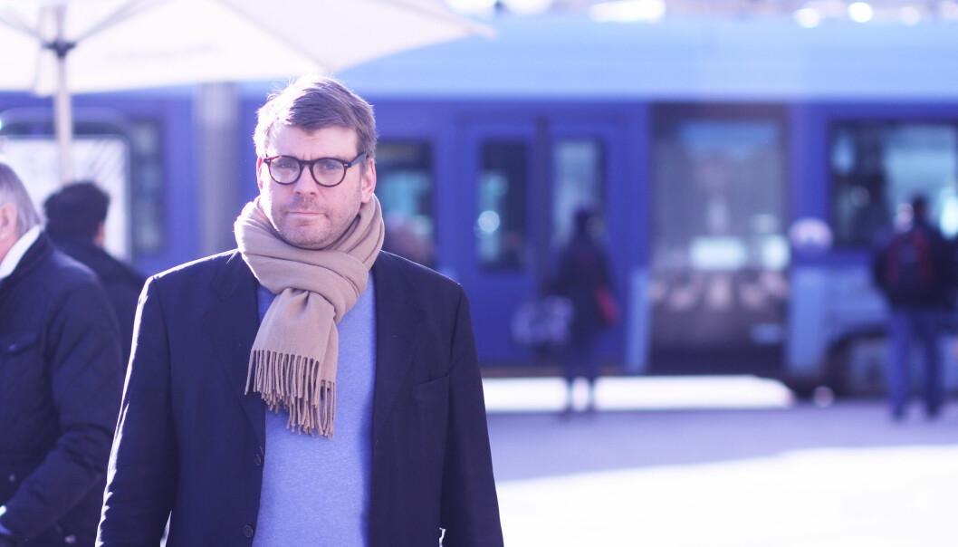 Sigvald Sveinbjørnsson tok over ledelsen i Bergensavisen i mai. Han ser optimistisk på opplagsinntektene, men vil ikke dele særlig om dem ennå. Foto: Martin Huseby Jensen