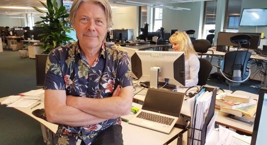 Erik Stephansen synes Nettavisen blir tatt mer seriøst