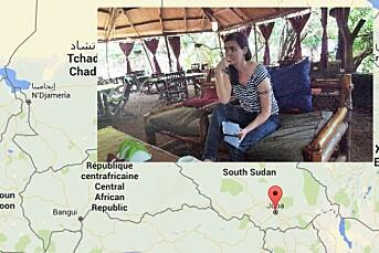 Maren Sæbø i sikkerhet i Nairobi