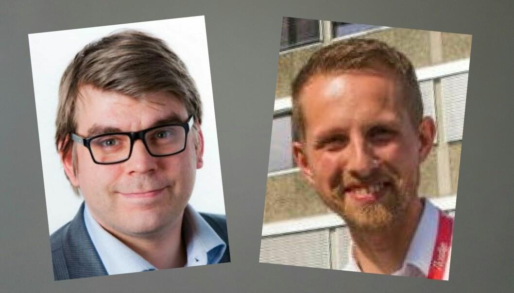 Sigvald Sveinbjørnsson (t.v.) og Helge Nitteberg ser ulikt på kulturjournalistikkens kår. Foto: Bergens Tidende og Yngve Olsen Sæbbe, Nordlys
