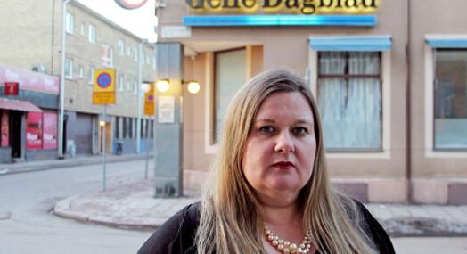 Stadig flere journalister i Sverige utsettes for trusler