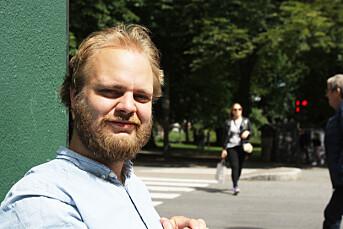 For å overleve i mediebransjen mener Mimir Kristjansson det er nødvendig å være i godt humør