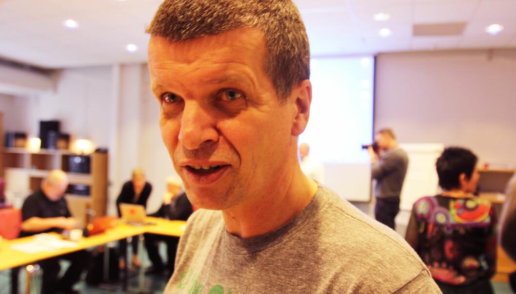 Gunnar Kagge er klubbleder i Aftenposten. Foto: Martin Huseby Jensen