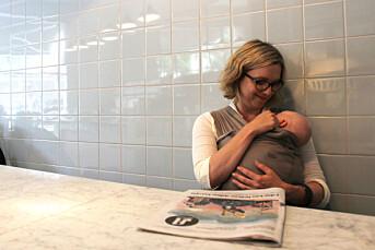 Sarah Sørheim elsker norsk sommer og klarer nesten å holde seg unna jobb i mammapermen