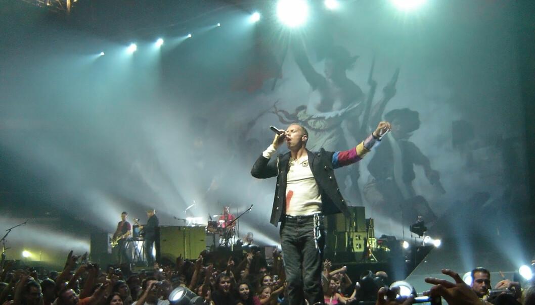 Mange musikere, blant dem Coldplay, har sett seg lei på at YouTube deler musikken deres gratis. Foto: Flickr.com/Creative Commons/Alex Bikfalvi