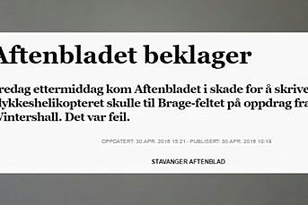 PFU felte Aftenbladet for fatal feilinfo