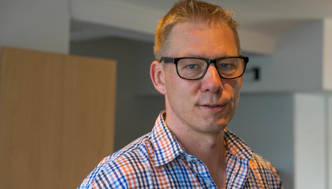 Konstituert redaktør i Journalisten Martin Huseby Jensen. Foto: Helge Øgrim