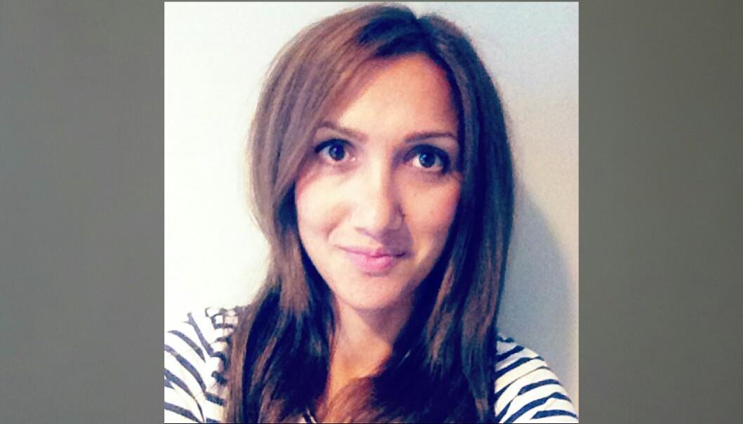 Mediejournalist Mina Ghabel Lunde har selv havnet i medienes søkelys.