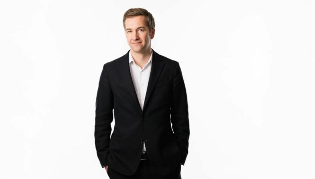 Ekot-redaktør Olle Zachrinson. Foto: Mattias Ahlm/Sveriges Radio